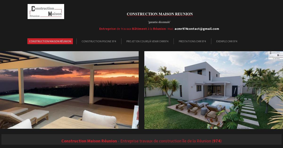 Construction maison r union catalogue 3d suite - Cree sa maison en 3d ...